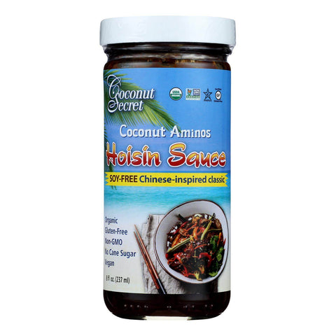 Coconut Secret Coconut Aminos Soy-Free Hoisin Sauce - Case of 12, 8oz.