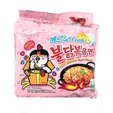 Samyang Fire Hot Carbo Chicken Ramen Noodles - Pack of 5 - Karman Foods