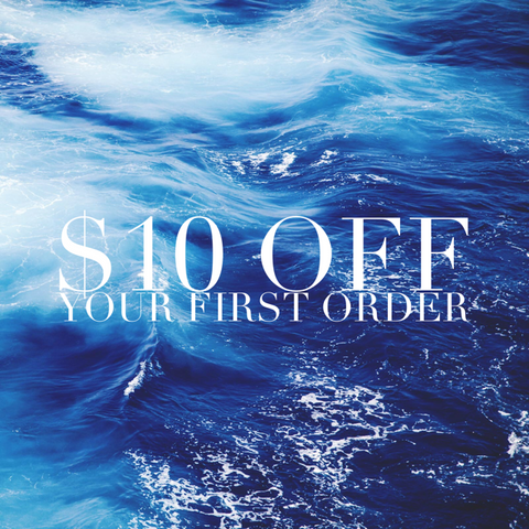 $10 OFF YOUR FIRST ORDER