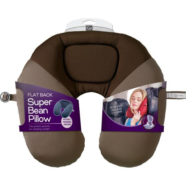 Go Travel Bean Snoozer | Travel Pillow: Dark Red [Bead Filled] - Jetsettr.com.au - 7