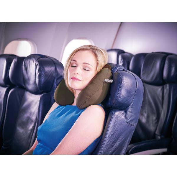 Go Travel Bean Snoozer | Travel Pillow: Dark Red [Bead Filled] - Jetsettr.com.au - 4