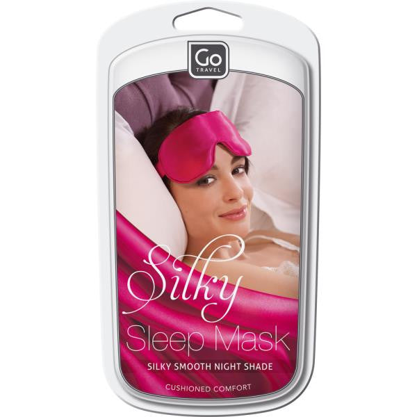 Go Travel Silky Eye Mask: Blueberry - Jetsettr.com.au - 4