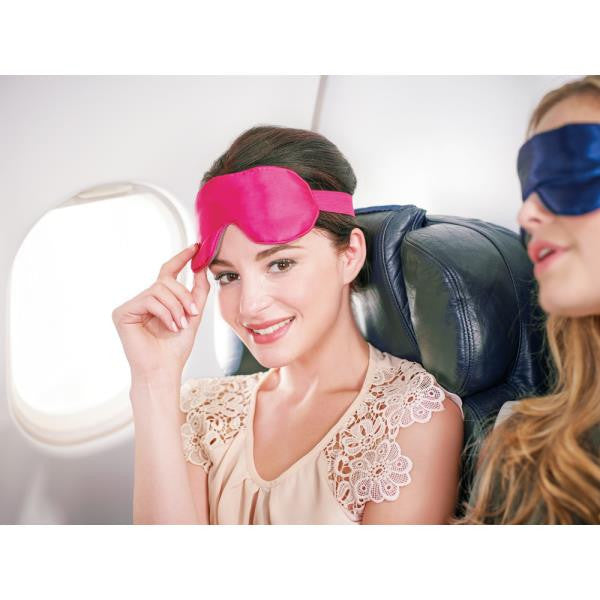 Go Travel Silky Eye Mask: Blueberry - Jetsettr.com.au - 5