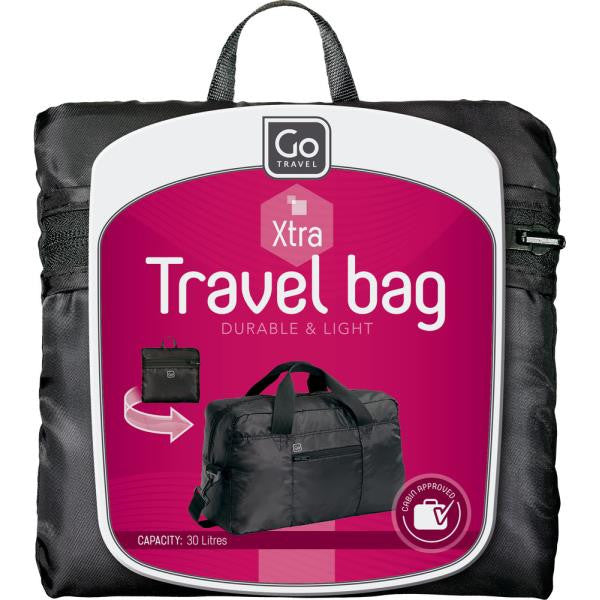 Go Travel Xtra Travel Bag: Strawberry Red - Jetsettr.com.au - 6