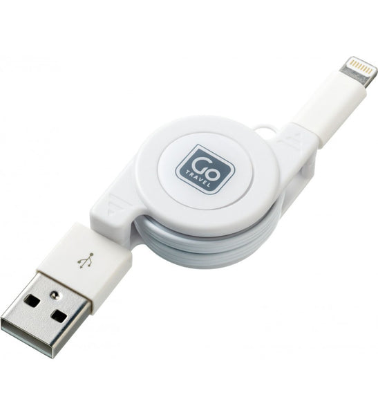 Go Travel USB Charging Cable (Lightning) - Jetsettr.com.au - 1