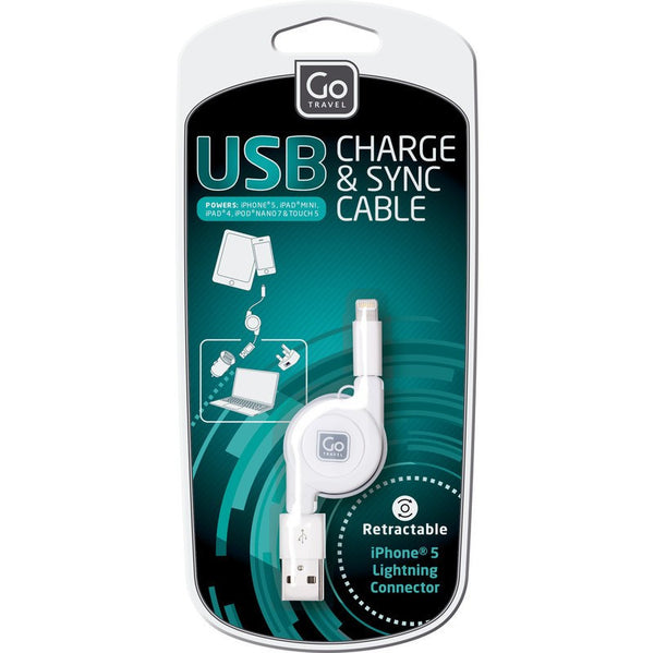 Go Travel USB Charging Cable (Lightning) - Jetsettr.com.au - 3