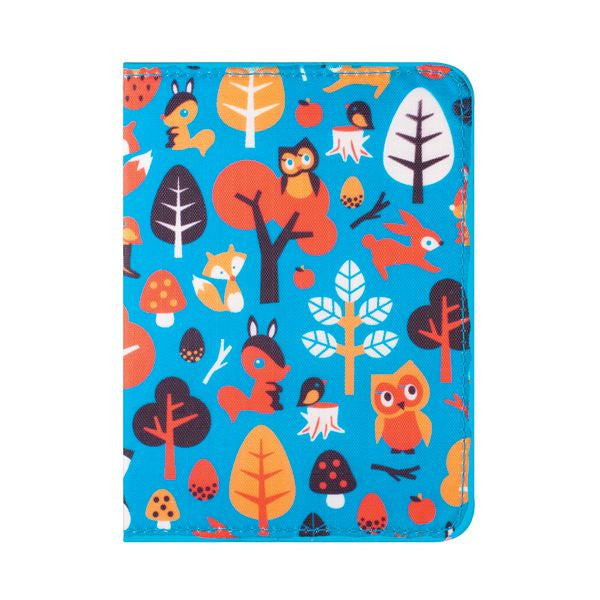 DQ & Co. Fun Love Passport Cover: Woodland Fantasy - Jetsettr.com.au - 2