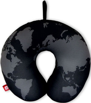 DQ & Co. World Map Travel Pillow [Bead Filled] - Jetsettr.com.au - 2