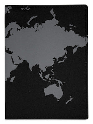DQ & Co. World Map Passport Cover - Jetsettr.com.au - 1