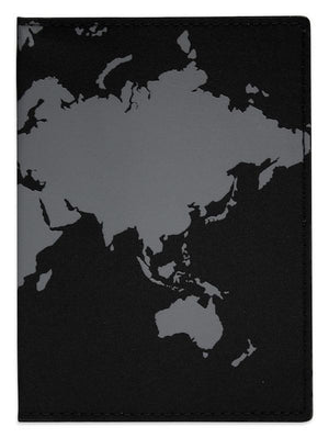 DQ & Co. World Map Passport Cover - Jetsettr.com.au - 2
