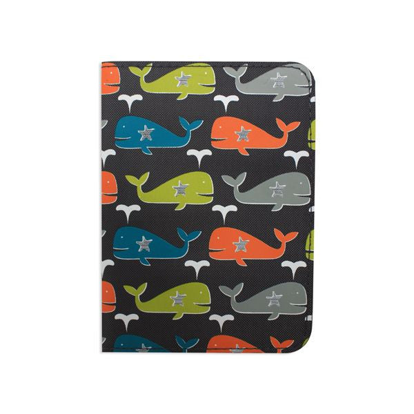 DQ & Co. Fun Love Passport Cover: Whale Splash - Jetsettr.com.au - 1