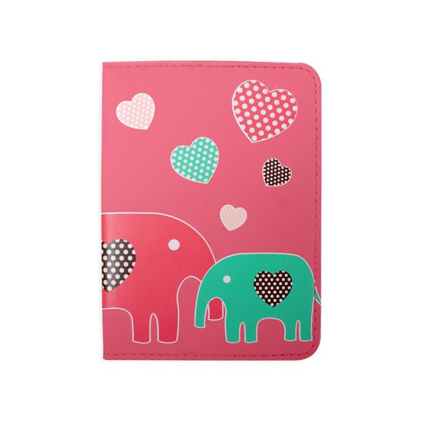 DQ & Co. Fun Love Passport Cover: Elephant Love - Jetsettr.com.au - 1