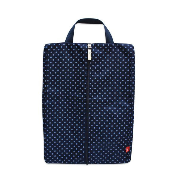 DQ & Co. Packing Pouch: Blue Dotty (40x26x3.5cm) - Jetsettr.com.au - 1