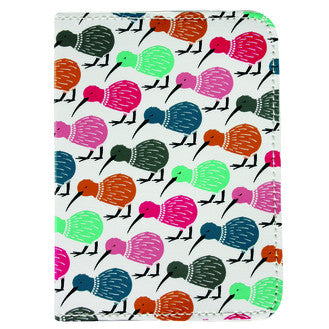 DQ & Co. Charming Collection Passport Cover: Kiwi - Jetsettr.com.au