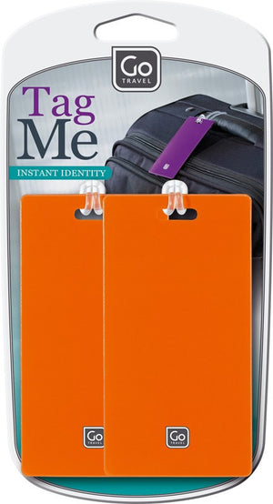Go Travel Tag Me Luggage Tags (2 pack)