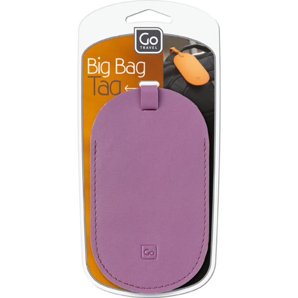 Go Travel Big Bag Tag: Purple - Jetsettr.com.au - 3