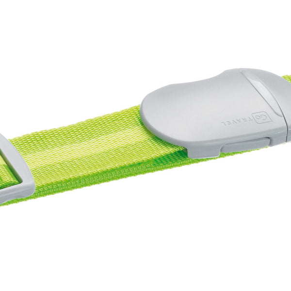Go Travel Luggage Strap: Striped Green - Jetsettr.com.au - 1