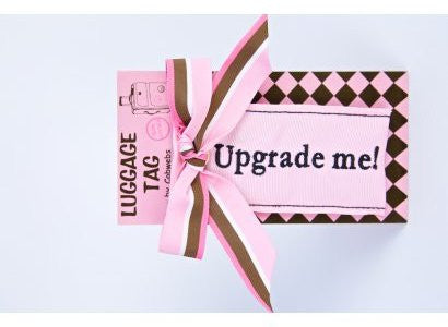 Cobwebs Luggage Tag: 'Upgrade Me' - Jetsettr.com.au