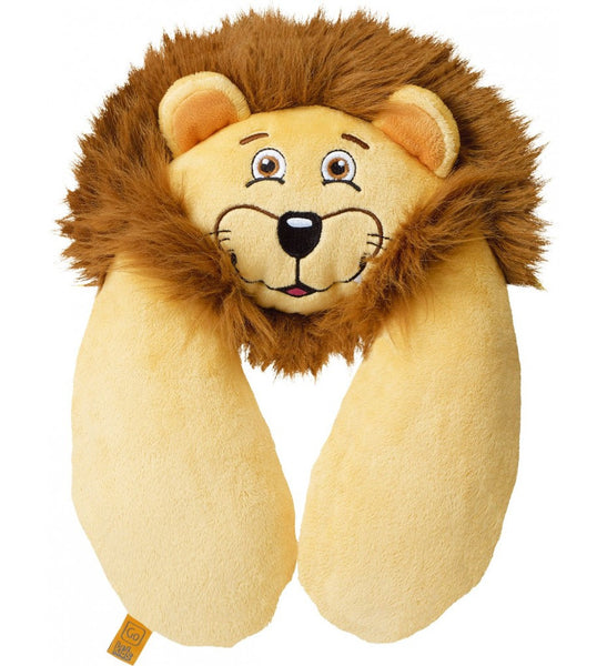 Go Travel Kids Neck Pillow: Lion - Jetsettr.com.au - 1