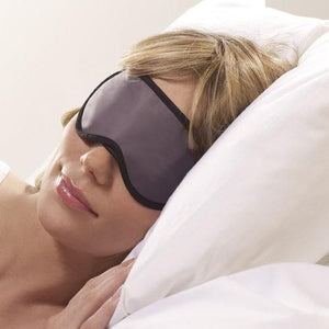 Go Travel Eye Mask | Sleeping Mask (BONUS Ear Plugs) - Jetsettr.com.au - 2
