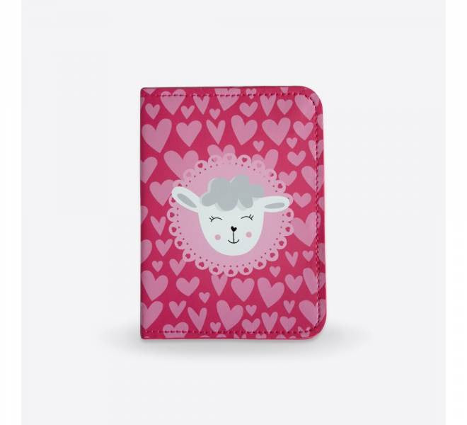 DQ Co. Charming Collection Passport Cover: Dreamy Sheep - Jetsettr.com.au