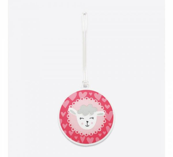 DQ Co. Charming Collection Luggage Tag: Dreamy Sheep - Jetsettr.com.au
