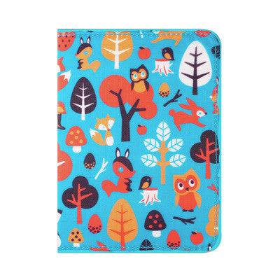 DQ & Co. Fun Love Passport Cover: Woodland Fantasy - Jetsettr.com.au - 1