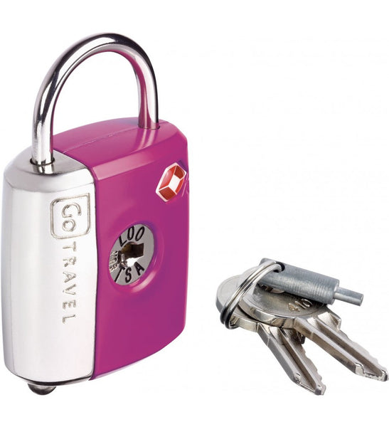 Go Travel Dual Combination / Key Lock - Jetsettr.com.au - 7