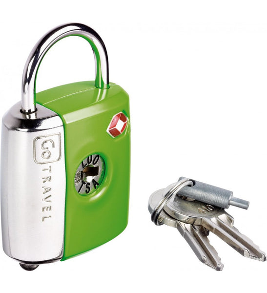 Go Travel Dual Combination / Key Lock - Jetsettr.com.au - 3