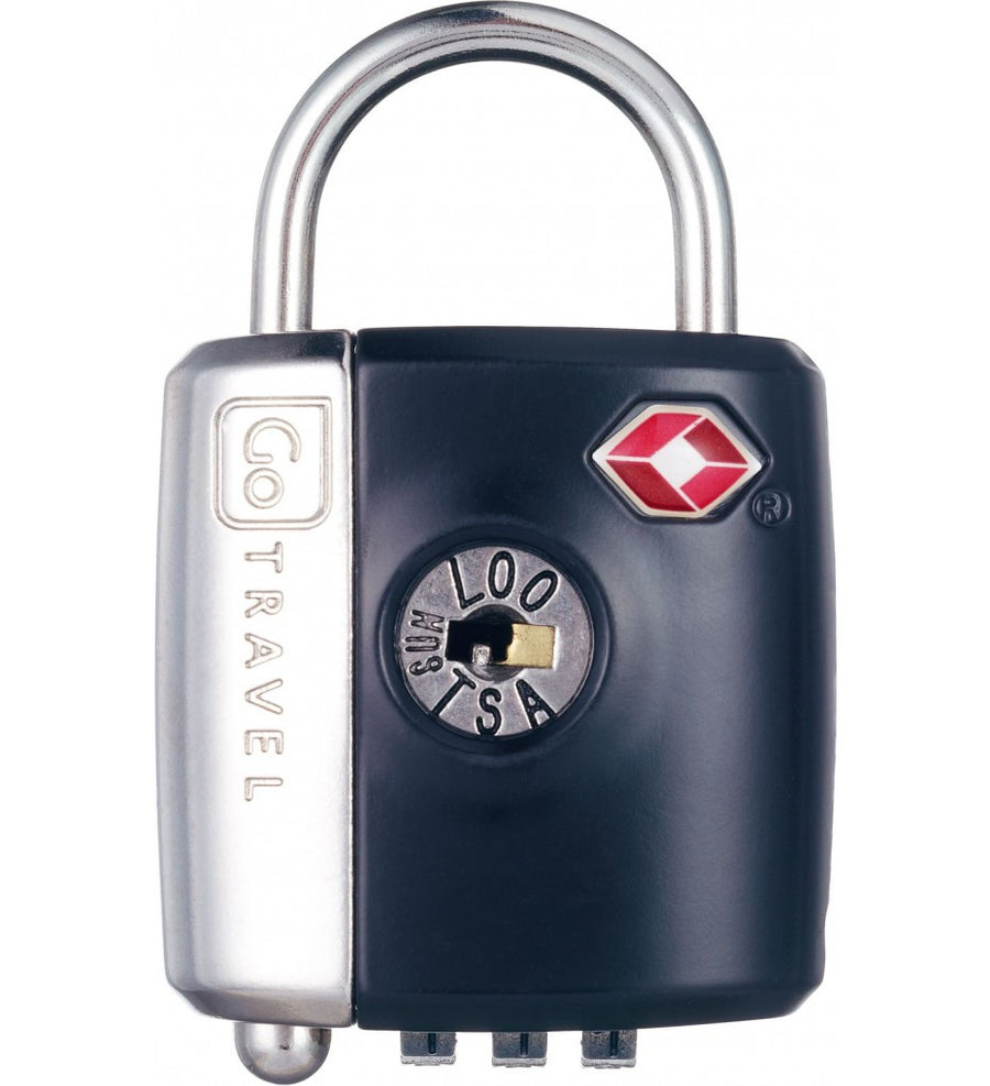 Go Travel Dual Combination / Key Lock - Jetsettr.com.au - 1