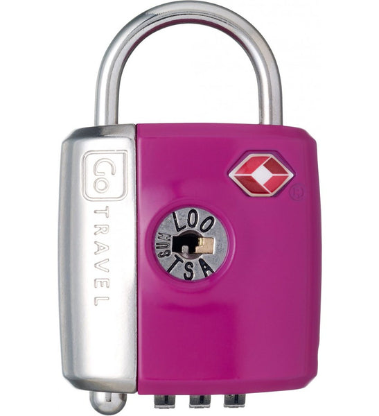 Go Travel Dual Combination / Key Lock - Jetsettr.com.au - 8