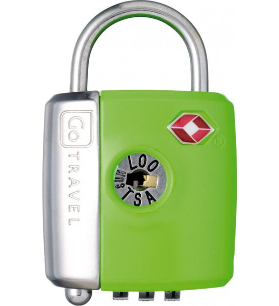 Go Travel Dual Combination / Key Lock - Jetsettr.com.au - 4