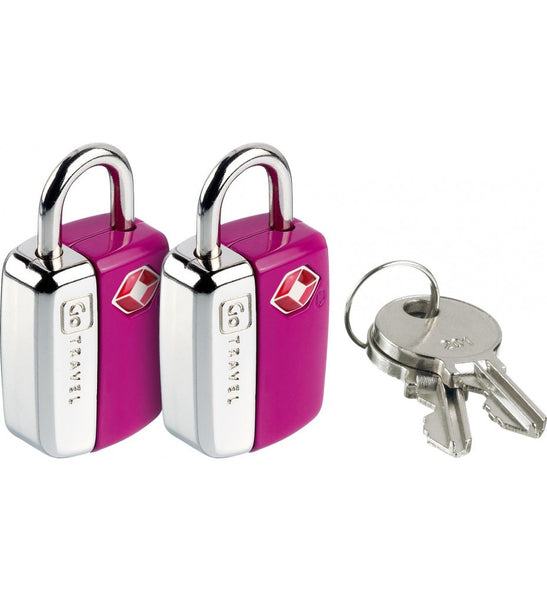 Go Travel Combination Travel Sentry TSA Mini Glo Locks [2pk] - Jetsettr.com.au - 7