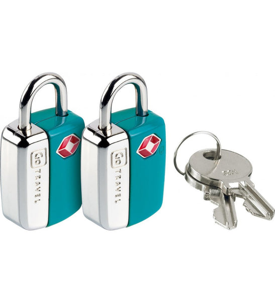 Go Travel Combination Travel Sentry TSA Mini Glo Locks [2pk] - Jetsettr.com.au - 1