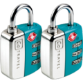 Go Travel Twin Travel Sentry TSA Locks [2pk] - Jetsettr.com.au - 2