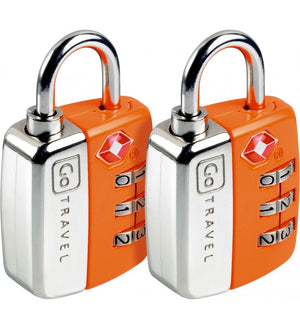 Go Travel Twin Travel Sentry TSA Locks [2pk] - Jetsettr.com.au - 5