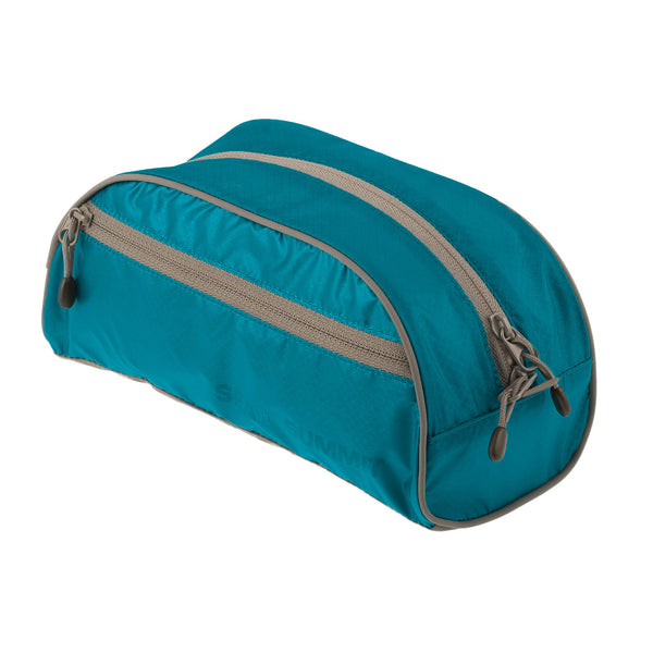 Sea To Summit TravellingLight Toiletry Bag LARGE: Blue/Grey - Jetsettr.com.au - 1