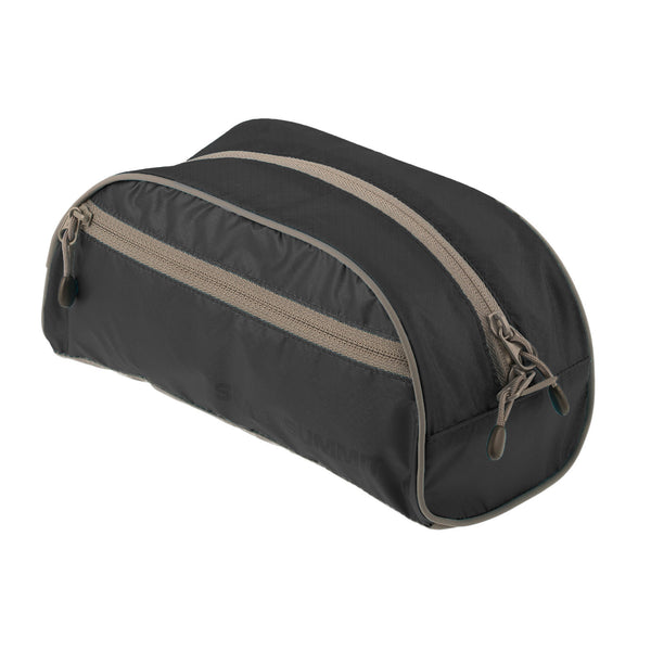 Sea To Summit TravellingLight Toiletry Bag LARGE: Black/Grey - Jetsettr.com.au - 1