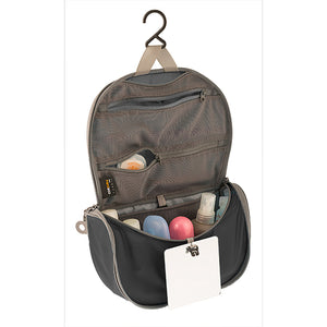 Sea To Summit TravellingLight Hanging Toiletry Bag SMALL: Black/Grey - Jetsettr.com.au - 1