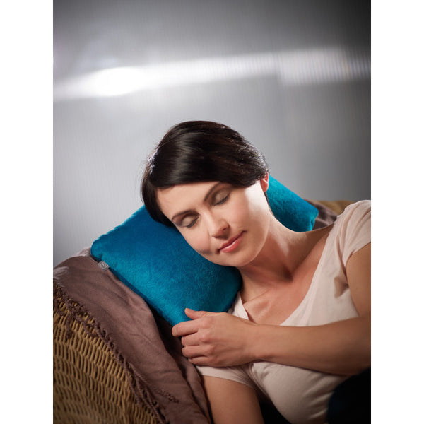 Go Travel 2-In-1 Duo Travel Pillow: Ocean Blue [Bead Filled] - Jetsettr.com.au - 7