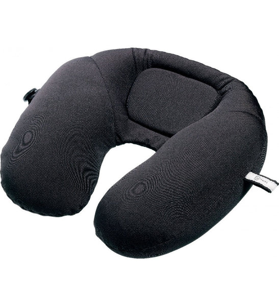 Go Travel Bean Snoozer | Travel Pillow: Liquorice Black [Bead Filled] - Jetsettr.com.au - 1