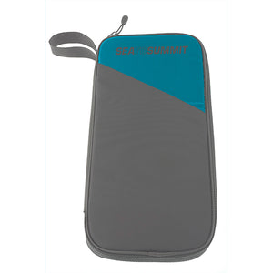 Sea To Summit TravellingLight Travel Wallet: Blue/Grey - Jetsettr.com.au - 1