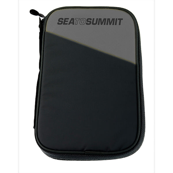 Sea To Summit TravellingLight RFID Passport Wallet: Black/Grey - Jetsettr.com.au - 1