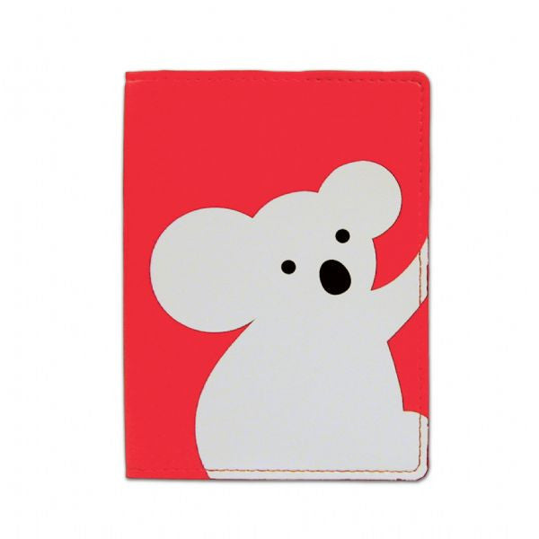 DQ & Co. Kitsch Passport Cover: Koala - Jetsettr.com.au
