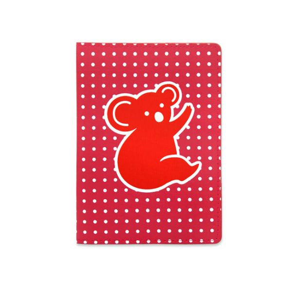 DQ & Co. Spots & Stripes Passport Cover: Koala - Jetsettr.com.au
