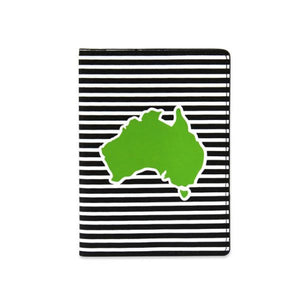 DQ & Co. Spots & Stripes Passport Cover: Australia - Jetsettr.com.au