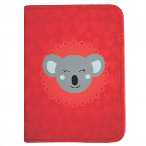 DQ & Co. Charming Collection Passport Cover: Dreamy Koala - Jetsettr.com.au