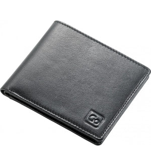 Go Travel RFID Leather Wallet: Black - Jetsettr.com.au - 1