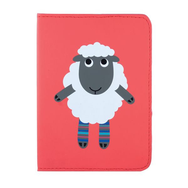 DQ & Co. Dressed Up Passport Cover: Sheep - Jetsettr.com.au - 1