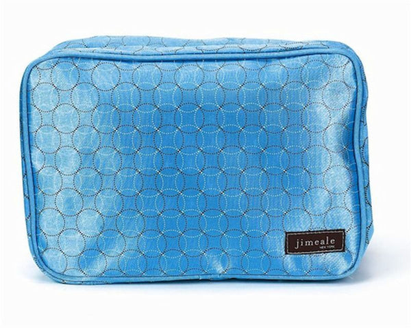 Jimeale New York 705 Toiletry Bag: Blue Circles - Jetsettr.com.au - 1